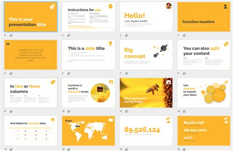 Editable Presentation Templates For Powerpoint And Google Slides Slidescarnival T5 Top Free Well Designed Powerpoint Templates