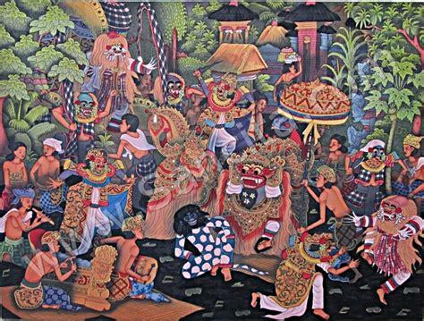 Lukisan Tradisi Kremasingaben Bali t 15 lukisan tradisi ngelawang sancita