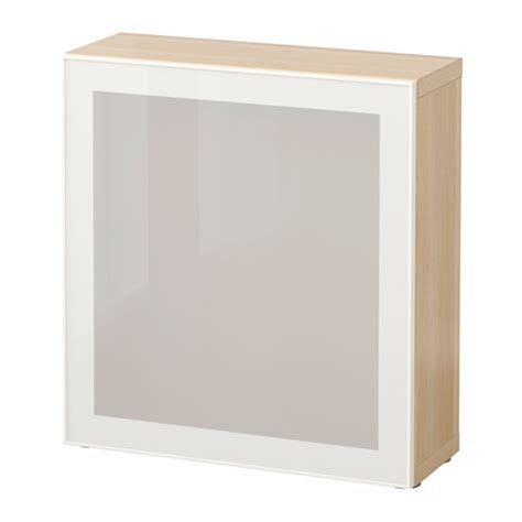 besta shelf unit with glass doors best 197 shelf unit with glass door white stained oak effect glassvik white frosted