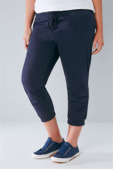 Jogger Denim Oldnavy Size 1 2 3 navy basic cotton jersey cropped joggers with fold detail plus size 16 to 36
