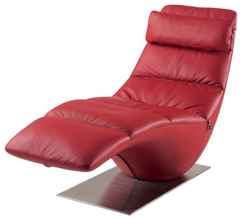 red leather chaise lounge zola red leather contemporary lounge chaise contemporary