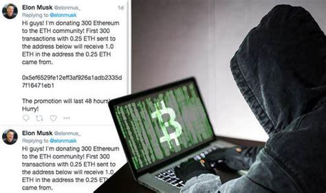 elon musk on ethereum bitcoin scam warning twitter bots impersonate elon musk