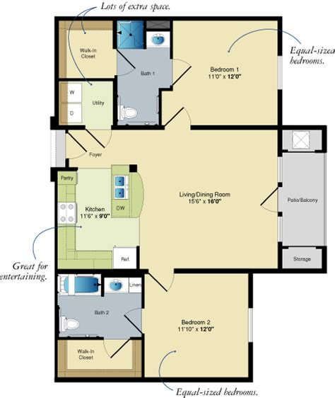 2 Bedroom Apartments In Baton by Two Bedroom Apartments Southgate Towers Apartments In