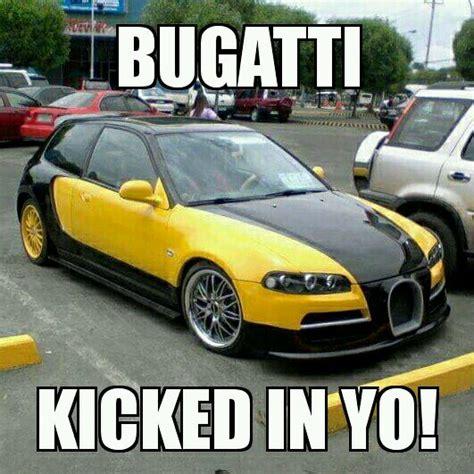 Bugatti Meme - honda chiron bugatti