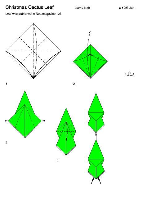 Origami Cactus - origami cactus le de l origami