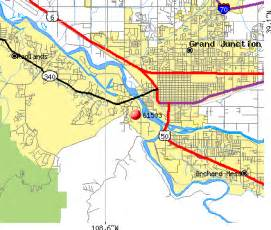 grand junction colorado zip code map my