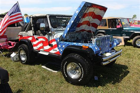 American Flag Jeep Error