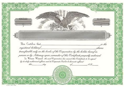 blank stock certificate template free update 28635 certificate template uk 47 documents