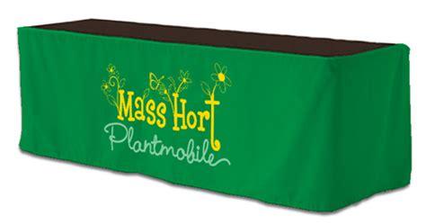 custom printed table skirts custom 6 ft table skirt 204 quot x 29 quot tsk4 6 motivators