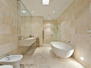 Bathroom Travertine Tile Design Ideas Classic Bathroom Design With Corner Bath Using Tiles