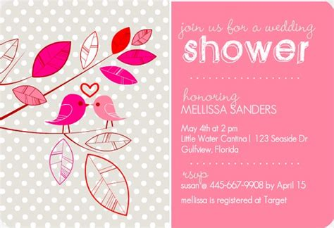 Bridal Shower Gift Card Wording - bridal shower invitation wording ideas from purpletrail