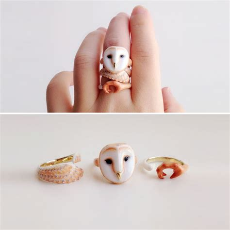 Adorable Jewelry Pieces From Gofavor by 3 Rings Become Animals When All Pieces Are Put Together