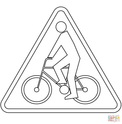 Coloring Page 24 by Cyclists A 24 Coloring Page Free Printable Coloring Pages