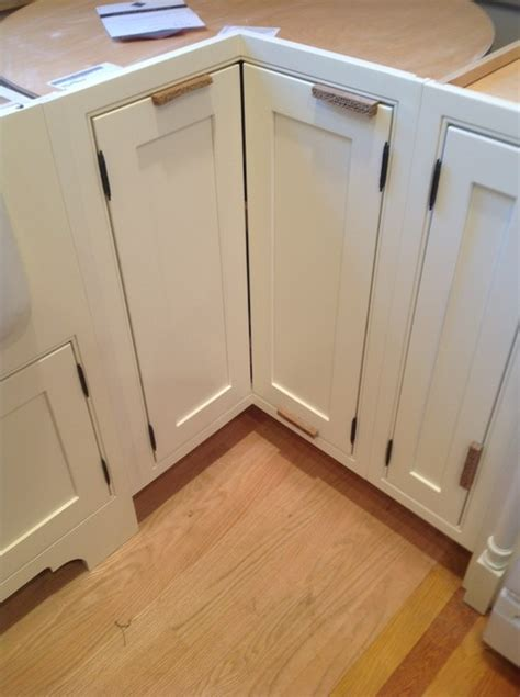 Help For Kitchen Corner Cabinets With Inset Doors Corner Cabinet Door