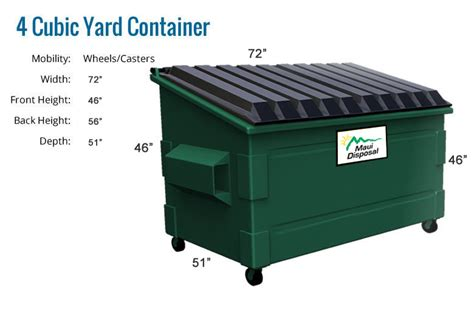 3 cubic yard container pictures to pin on