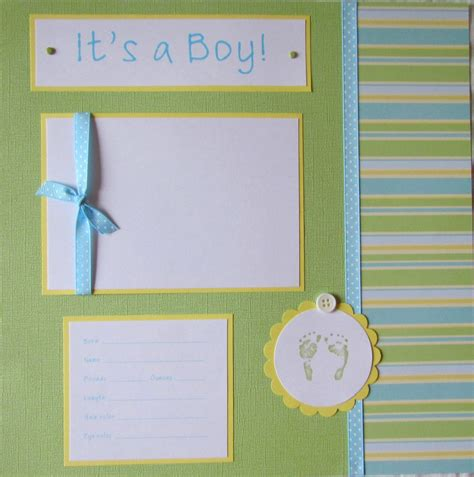 12x12 scrapbook templates 20 baby boy scrapbook pages for 12x12 year album