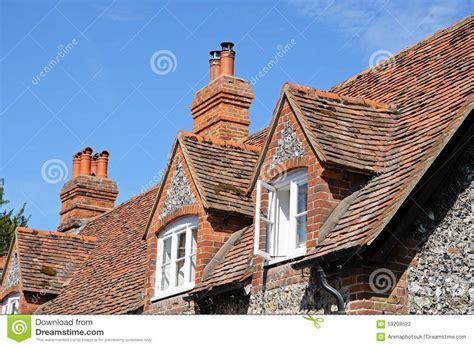 Cottage Dormer Windows Hambledon Cottage Dormers Stock Photo Image Of Hambledon