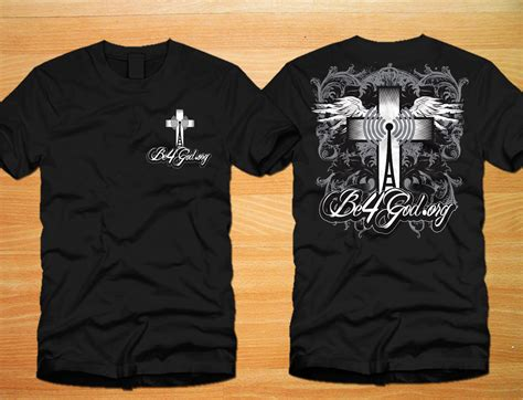 design t shirt christian elegant playful t shirt design for bill ruble by one day