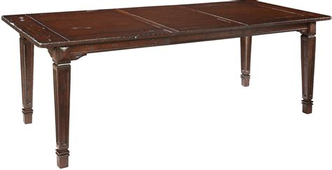 Antique Extendable Dining Table Antique Brown Extendable Dining Table From Hekman Furniture Coleman Furniture