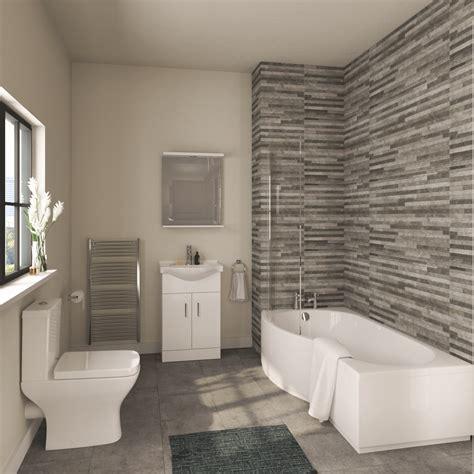Modern Bathroom Suite by Modern Complete Bathroom Suite Own Brand Obpack196