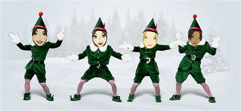 printable dancing elf website of the day elf yourself popsugar tech