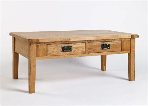 westbury reclaimed oak 4 drawer coffee table oak