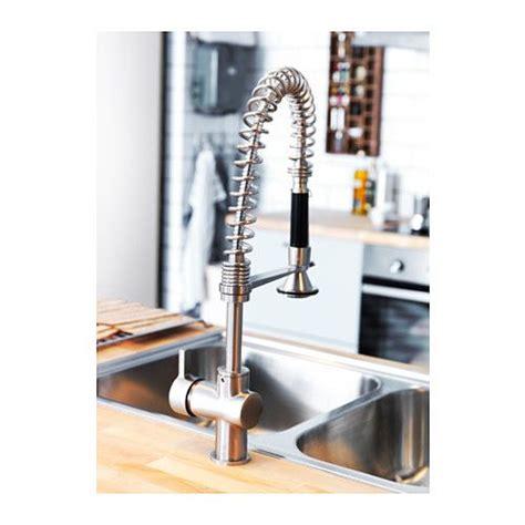 kitchen faucet with handspray hjuvik kitchen faucet with handspray stainless steel color