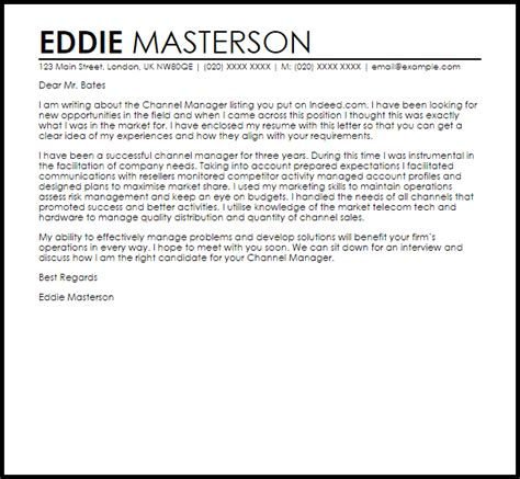 Warehouse Supervisor Cover Letter – Warehouse Manager Cover Letter Template   Resume Downloads