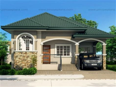 modern house design in pinoy with attic bungalow house plans eplans