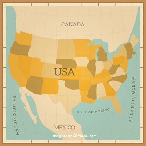 usa map vector image free usa map design vector free
