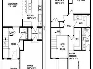 modern contemporary floor plans modern 2 story house floor plan 2 story modern house
