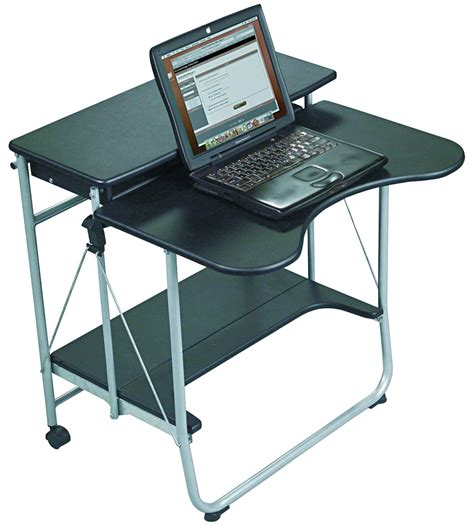 collapsible laptop desk collapsible computer desk in computer and laptop carts