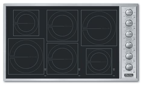 Induction Cooktop Uk - viking 36 quot induction cooktop stainless steel black