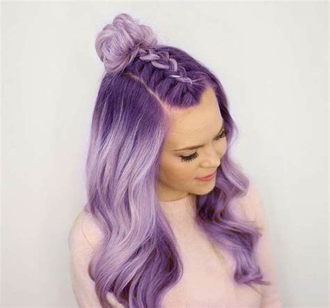 cute girls hairstyles for your crush best 25 light purple hair ideas on pinterest