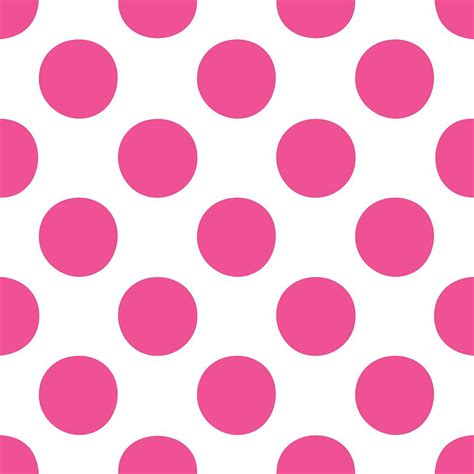 dot pattern in french polka dots in french pink pattern 03 p0109 digital art by