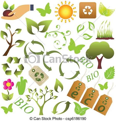 crestock royalty free stock photos vector vector clipart of eco and environment symbols eco and