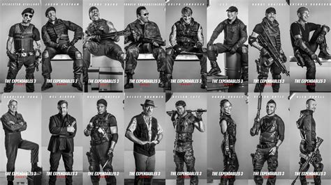 the expendables 3 2014 big screen action m a a c new images from the expendables 3