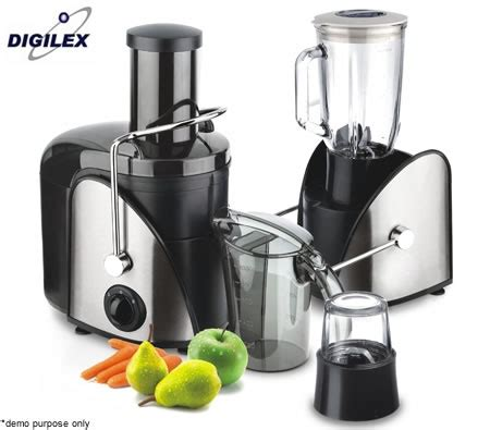 Power Juicer 7 In 1 digilex 3 in1 power fruit juicer blender coffee