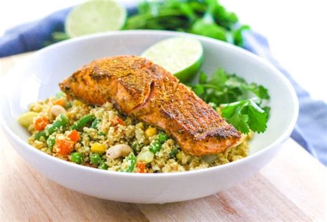 Todays Special Sake Salmon And Rice by Curried Salmon With Cauliflower Rice Biryani Eat Spin