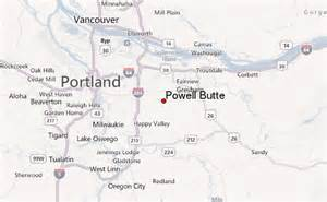 powell butte mountain information
