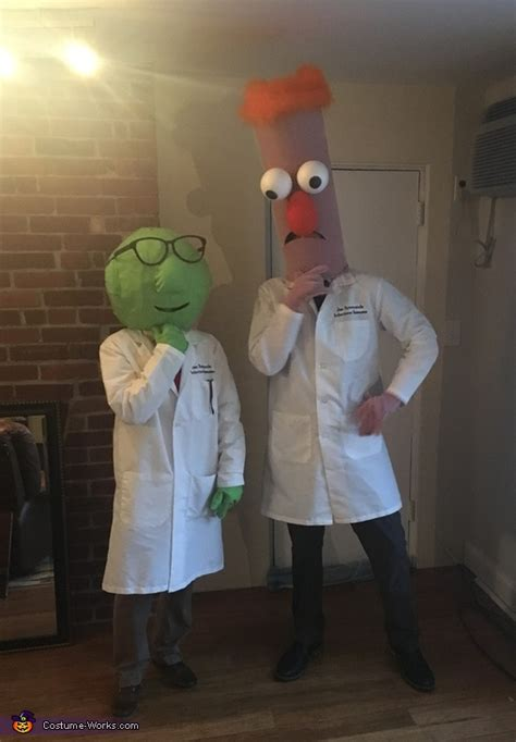 beaker  dr bunsen honeydew couple costume