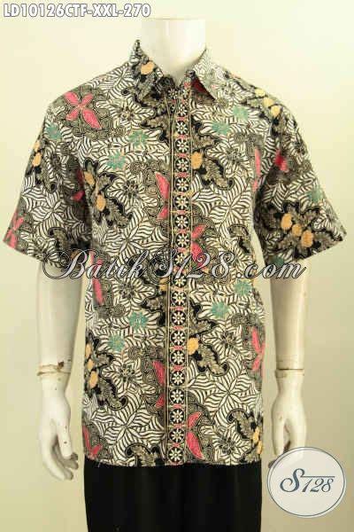 Kemeja Batik Pria Hem Batik Pria Soka Big Size batik hem big size model terkini kemeja batik berkelas lengan pendek nan istimewa proses