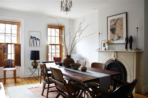 the dining room brooklyn a jewelry designer s travel inspired home home tour lonny