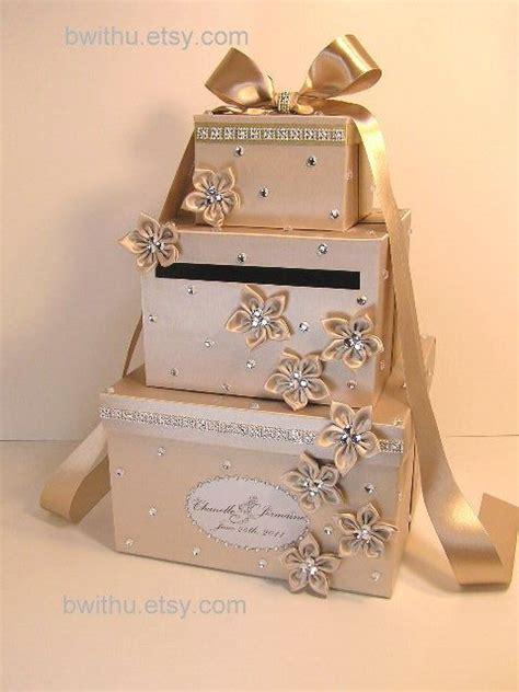 money as wedding gift chagne wedding card box gift card box money box holder