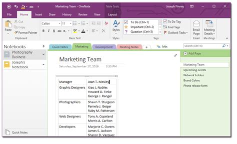 onenote new section group leverage onenote in your company by using it to manage