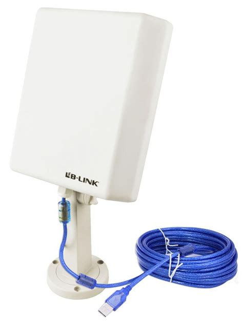 Wifi Outdoor 150m 10m cable usb wifi wireless adapter range outdoor high gain antenna us ebay