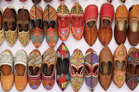 Handmade Leather Shoes India - wandering threads jutti jutti jodphur
