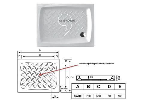 piatto doccia 65x80 box doccia rettangolare 65x80 cm cristallo 3 mm vendita