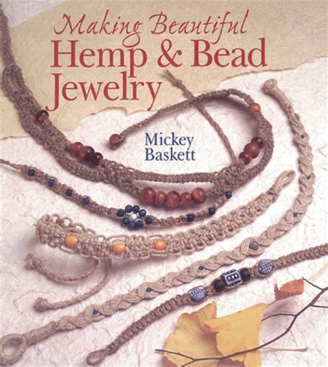Hemp Braiding Patterns - make a hemp bracelet or necklace