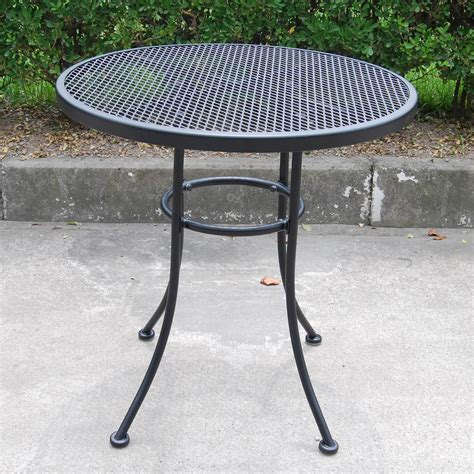 Mainstays Wrought Iron Piece Outdoor Bistro Set Seats Wrought Iron Patio Furniture Clearance